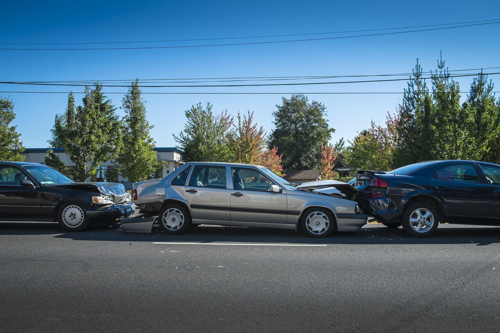 Who Pays for Damages in a 3-Car Crash?